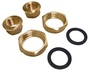 Grundfos 3/4 In. Bronze Half Thread Union Set G529912