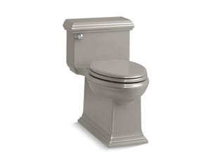 Kohler Memoirs® Classic 1.28 gpf Elongated Floor Mount One Piece Toilet in Cashmere K6424-K4