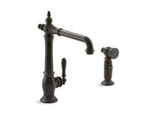KOHLER Artifacts® Single Handle Kitchen Faucet in Oil Rubbed Bronze K99265-2BZ