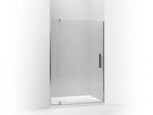 Kohler Revel™ Pivot Glass Shower Door in Bright Polished Silver K707551-L