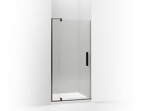 Kohler Revel™ 36 in. Pivot Shower Door with Crystal Clear Tempered Glass in Anodized Dark Bronze K707511-L-ABZ