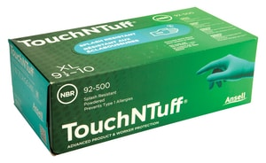 Ansell Occupational Healthcare Nitrile Powder Free Textured Gloves Green XL 100/Box ANS105118