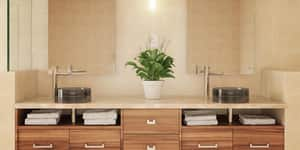 DECOLAV® Incandescence™ 15.75 in. Above Counter Resin Lavatory Sink in Shadow D2806SHA