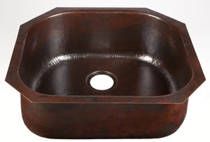 Thompson Traders Drop-In and Undermount Bar Sink in Black Copper TKSU2321BC