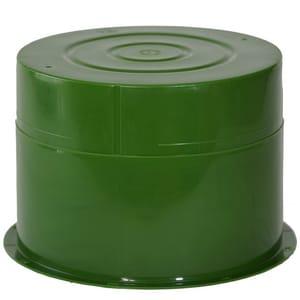 Crete-Sleeve 10 in. Plastic Sleeve in Green CN408050010