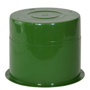 Crete-Sleeve 8 in. Plastic Sleeve in Green CN2830500X