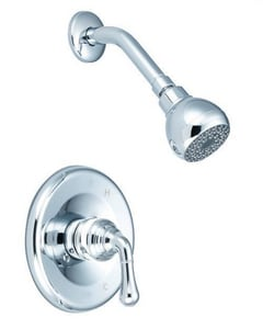 PROFLO® 1.75 gpm Shower Faucet Trim Only with Single Lever Handle in Polished Chrome for PF3001 Tub and Shower Valve PF5220GCP