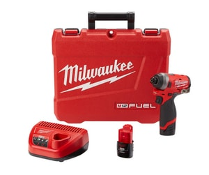 Milwaukee M12 FUEL™ 1/4 in. Hex Impact Driver Kit M255322