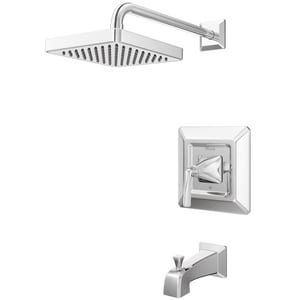 Pfister Park Avenue™ 1.8 gpm Wall Mount Tub and Shower Trim with Single Lever Handle PLG898FE