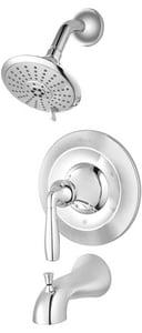 Pfister Iyla™ Single Handle Multi Function Bathtub & Shower Faucet in Polished Chrome (Trim Only) PLG898TRC