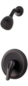 Pfister Pfirst Series™ 1.8 gpm Pressure Balance Shower Only Trim Kit with Single Lever Handle in Tuscan Bronze PLG89020Y