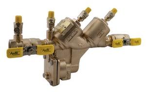 Apollo Conbraco RP4A Series 1/2 in. Bronze Push 175 psi Backflow Preventer A4ALF213A2F