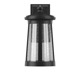 Park Harbor® Woodberry 12W 15-7/8 in. 1-Light Wall Sconce in Black PHEL3102BLKLED