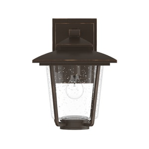 Park Harbor® Ivy Cottage 100W 13-5/8 in. 1-Light Medium E-26 Wall Sconce in Oil Rubbed Bronze PHEL1302ORB