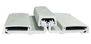 Cal-Royal 83 in. Full Surface Continuous Geared Hinge CCRHD78057083CL