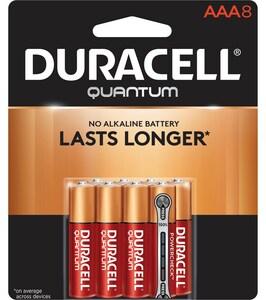 Duracell Quantum 1.5V AAA Quantum Battery 8-Pack DQU2400B8BCD