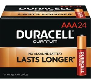 Duracell 1.5V AAA Bulk Quantum Battery 24-Pack DQU2400BKD