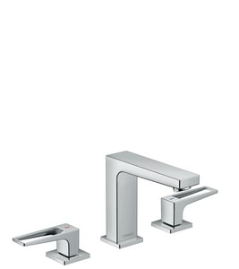 Hansgrohe Metropol 110 1.2 gpm 3-Hole Deck Mount Lavatory Faucet with Double Loop Handle H74516