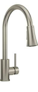 PROFLO® Orvis Single Handle Pull Down Kitchen Faucet in Brushed Nickel PFXC7011BN