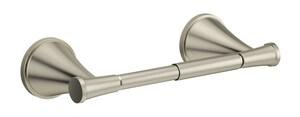 PROFLO® Willett Wall Mount Toilet Tissue Holder in Brushed Nickel PF2831BN