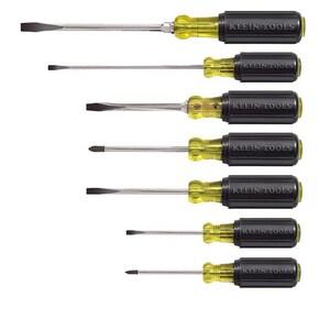 Klein Tools Cushion-Grip Manual Phillips 7 Piece Screwdriver K85076