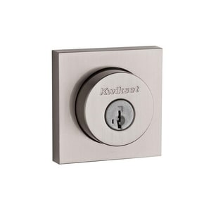Kwikset Halifax® Square Deadbolt in Satin Nickel K158SQT15SMTRCALRC