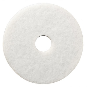 3M Niagara™ 12 in. Polishing Pad in White (Case of 5) 3M04801135055