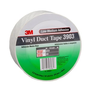 3M 50 yd. x 2 in. Vinyl Duct Tape in Blue 3M05113106978