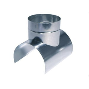 16 in. Galvanized Steel Saddle in Round Duct SHMST92616