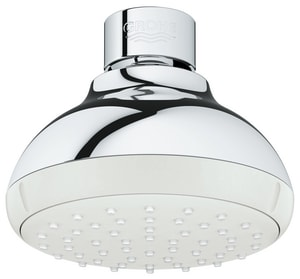 GROHE® New Tempesta 100 1.5 gpm 1-Function Round Showerhead in StarLight® Polished Chrome G26050001