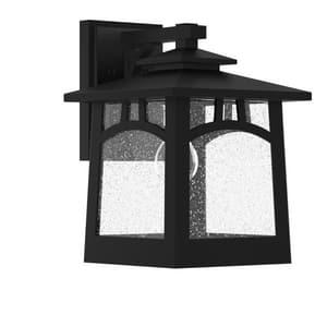 Park Harbor® Carytown 100W 14-1/8 in. 1-Light Medium E-26 Wall Sconce in Black PHEL1102BLK