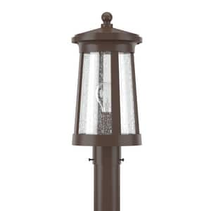 Park Harbor® Woodberry 17-1/8 in. 100W 1-Light Medium E-26 Post Lantern PHEL3103