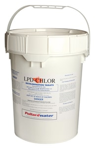 Pollardwater LPD-Chlor™ Dechlorination Tablets for LPD-250 Diffusers PW0000010 at Pollardwater