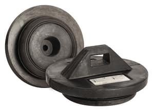 Taylor Made Plastics 10 in. Bell End Pipe Plug for Ductile Iron/C900 T301110 at Pollardwater