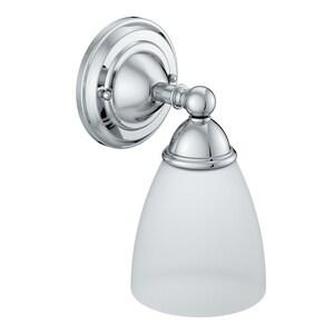 Moen Brantford™ 100W 1-Light Medium Sconce Light in Polished Chrome MYB2261CH