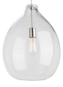 Generation Lighting Feiss *CVR* TD-QUINTON PEND CL BK T700TDQNTPCB