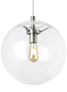 Tech Lighting Palona 14 in. 9W 1-Light Medium E-26 LED Pendant in Satin Nickel T700TDPLNPCSLEDWD
