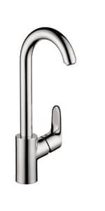 Hansgrohe Focus Single Lever Handle Bar Faucet in Polished Chrome H04507