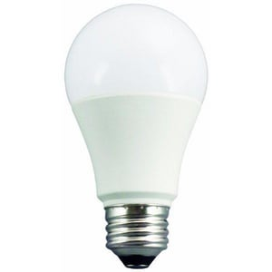 TCP 9W A19 Dimmable LED Light Bulb with Medium Base TL9A19D2530K