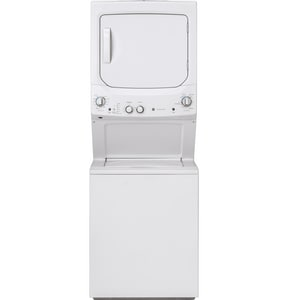 GE Appliances Spacemaker® 5.9 cf Electric Washer and Dryer GGUD27ESSMWW