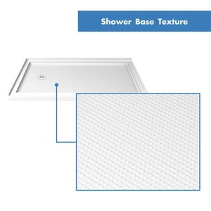 DreamLine Slimline 36 in. Rectangle Shower Base in White DDLT1036481