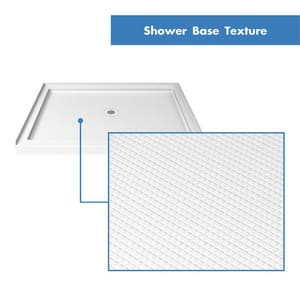 DreamLine Slimline 36 in. Square Shower Base in White DDLT1136360