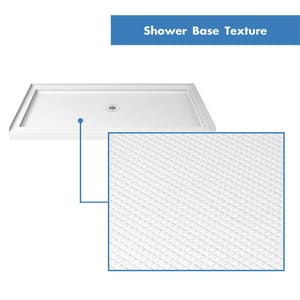 DreamLine Slimline 36 in. Rectangle Shower Base in White DDLT1136600