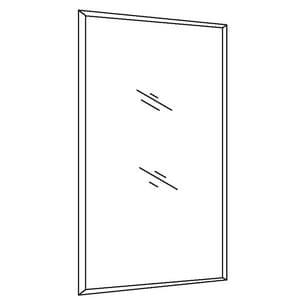 Kohler Outer Door for Kohler CLC1526FS Medicine Cabinet KCB-DXCLC15FS