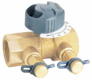Oventrop 1 in. FNPT Balancing Valve O1660908