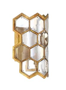 Park Harbor® Thacker 11 in. 60W 1-Light Wall Sconce in Antique Gold Leaf PHWL3261AGL