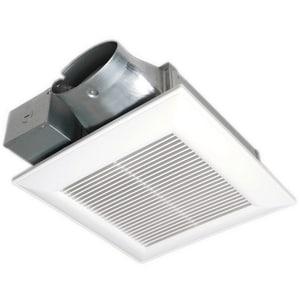 Panasonic WhisperValue® DC™ 100 CFM Bathroom Exhaust Fan in White PANFV0510VS1