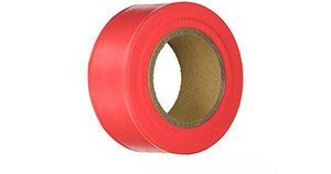 Irwin Industrial Tool Vinyl Flagging Tape in Glo Red I65601