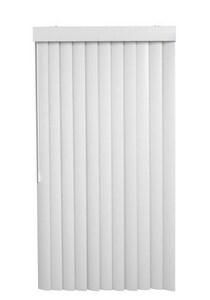 Lotus & Windoware Vertical Vane Replacement Slat in White LVVVVWH