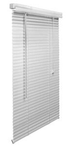Lotus & Windoware 1 in. PVC Mini Blind in White LMLWH